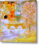 From The Light Of The Moon Metal Print
