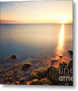 From The Rocks Sunset  Metal Print by Eyzen M Kim