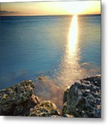 From The Sea Rocks Metal Print