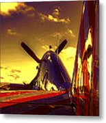 From The Tail Metal Print