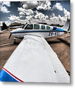From The Wing Metal Print