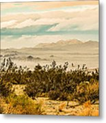 From Top Of The Mountain At Joshua Tree National Park Metal Print