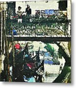 From Venice With Love Metal Print
