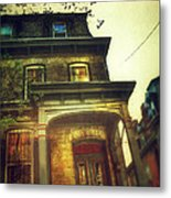 Front Of Old House Metal Print by Jill Battaglia