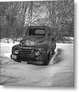 Front Of Old Timer Metal Print