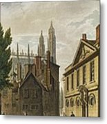 Front Of Trinity Hall, Cambridge Metal Print