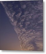 Front Passing Through Sky Southern Alps Metal Print