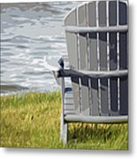 Front Row Seat Metal Print