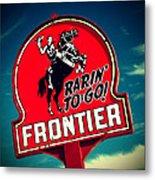 Frontier Land Metal Print