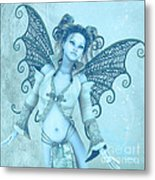 Frost Fairy Metal Print