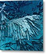 Frost Needles 2 Metal Print
