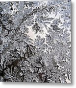 Frosted Glass Abstract Metal Print