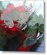 Frosted Hibiscus 2 Metal Print