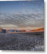 Frosted Palouse Metal Print