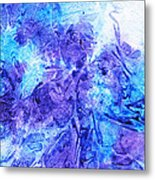 Frosted Window Abstract I   Metal Print