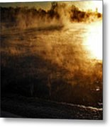 Frosty Morning ... Metal Print