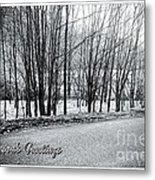 Frosty Morning At Dalmally  Metal Print