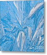 Frosty Window Art Metal Print