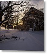 Frozen And Forgotten 2 Metal Print