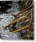 Frozen Edges And Ends Metal Print