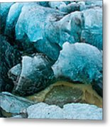 Frozen Embrace Metal Print
