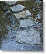 Slippery Stone Path Metal Print
