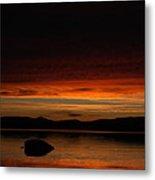 Lake Umbagog Marbled Moment Metal Print