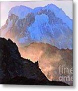 Frozen - Torres Del Paine National Park Metal Print