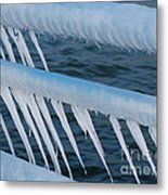 Frozen Stiff Metal Print