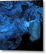 Frozen Stone Fish Metal Print