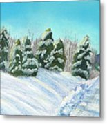 Frozen Sunshine Metal Print