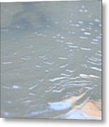 Frozen Tide. Metal Print