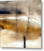 Frozen Time I Metal Print