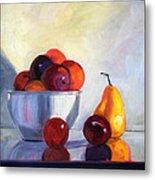 Fruit Bowl Metal Print