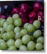 Fruit Mixer Metal Print