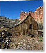 Fruita Horse Stable Capitol Reef National Park Utah Metal Print