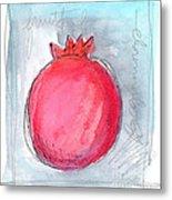 Fruitful Beginning Metal Print by Linda Woods