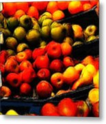 Fruits On The Market Metal Print