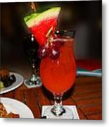 Fruity Coctail Metal Print