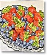 Fruity Day Metal Print