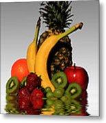 Fruity Reflections - Light Metal Print