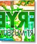 Frye Art Museum Metal Print