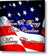 Ft. Bragg - Christmas Metal Print
