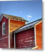 Ft Collins Barn Sunset 13505 Metal Print