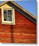 Ft Collins Barn Sunset 2 13508 Metal Print