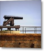 Ft Gaines - Cannon Metal Print
