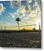 Ft. Myers Volleyball Metal Print
