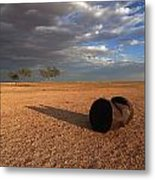 Fuel Stop Metal Print by Gordon  Grimwade