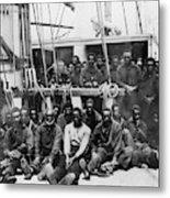 Fugitive Slaves, 1862 Metal Print