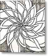 Full Bloom Iv  Metal Print
